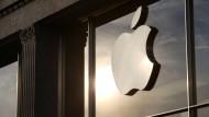 Noch im Februar hatte Donald Trump zum Apple-Boykott aufgerufen.