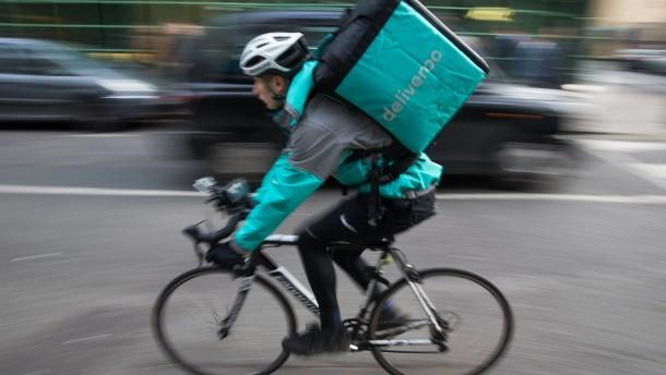 Amazon steigt bei Deliveroo ein
