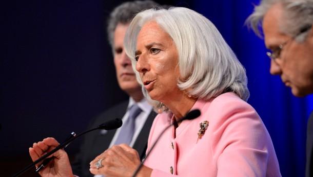 Lagarde mahnt Fed zu vorsichtiger Geldpolitik