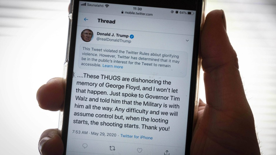 Der Streit mit Twitter spitzt sich zu.