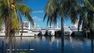 Yachten bei einer Show in Florida