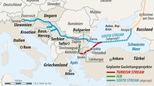 Bulgarische Gas-Träume