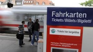 Bahn erhöht Preise im Regional- und Nahverkehr