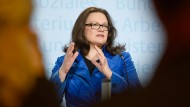 Die Union applaudiert Nahles