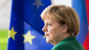 Merkel: Stelle Unabhängigkeit der EZB nicht infrage