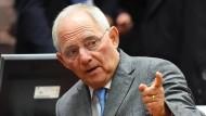 Wolfgang Schäuble ist grundsätzlich für eine Vertiefung der EU, aber nicht jetzt.