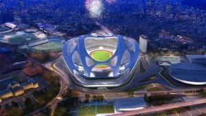 Krach um den Neubau des Olympiastadions in Tokio