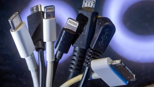 Ein Ladekabel für alle Elektrogeräte