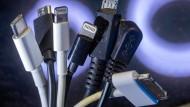 Plan der EU-Kommission: Ein Ladekabel für alle Elektrogeräte