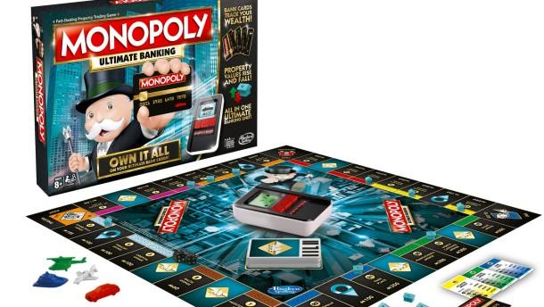 Monopoly ist jetzt bargeldlos
