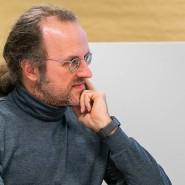 Bernhard Schölkopf (l.) im Gespräch mit Bosch-CTO Michael Bolle.