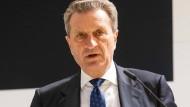 Günther Oettinger ist der für den Haushalt zuständige EU-Kommissar.