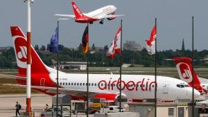 Air Berlin-Piloten drohen mit Streiks