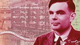Computerpionier Turing auf neuer 50-Pfund-Note