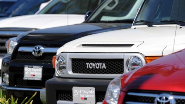Toyota-Fahrer hatten offenbar selbst Schuld an Unfällen