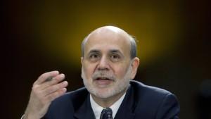 Auch Ben Bernanke wollte seine Bazooka