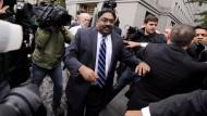 Raj Rajaratnam als er vor acht Jahren verurteilt wurde