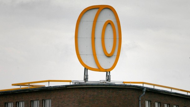 File photo of logo of Continental atop of the company's estate in Hanover