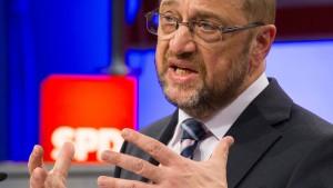 Linke an SPD: Stimmt doch über die Schulz-Vorschläge ab