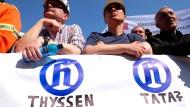 Thyssen und Tata: Klappt es noch mit dem Zusammenschluss?