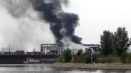 Mindestens zwei Tote nach Explosion bei BASF