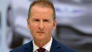 Warnung von VW-Chef Herbert Diess