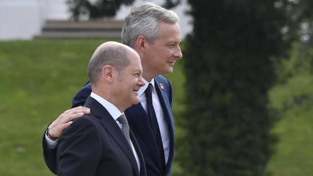 Berlin und Paris sehen Chancen für eine globale Digitalsteuer