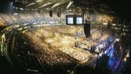 Moderne Unterhaltungspaläste: Die Lanxess-Arena in Köln ist die umsatzstärkste Multifunktionshalle in Deutschland.