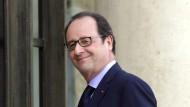 Freut sich über den niedrigen Eurokurs: Frankreichs Präsident Francois Hollande