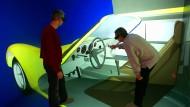 Im Multimedia-Labor der TU Dresden