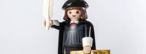 Hier stehe ich und kann nicht anders: Der Playmobil-Luther ist ein Verkaufs-Hit.