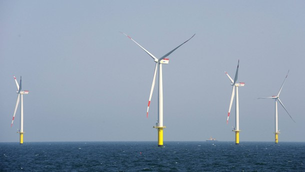 Ein Windpark, der Strom verbraucht und Diesel frisst