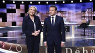 Auch das TV-Duell zwischen Marine Le Pen und Emmanuel Macron in Frankreich haben die Forscher untersucht.