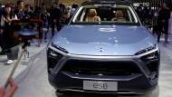 Hoffnungswert: Das Elektro-SUV ES8 von Nio sieht gut aus - doch prduziert wurden bisher kaum welche.