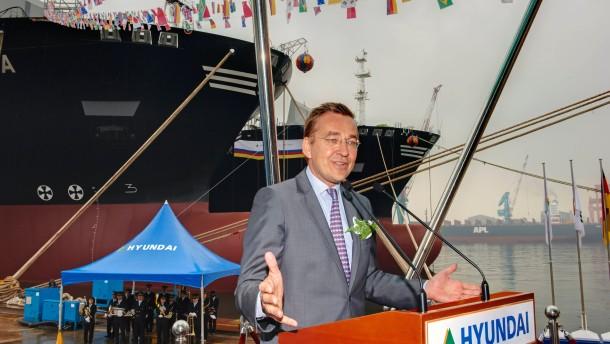 Ein Reeder engagiert sich für den Zusammenschluss