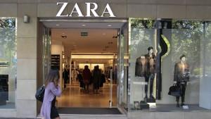 Zara behauptet sich gegen Amazon und Co.