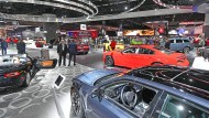 Detroiter Autoshow im Schatten von Trump