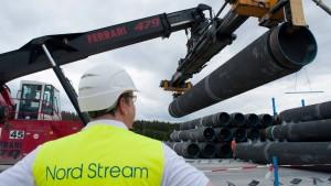 Nord Stream treibt Erdgas-Pipeline durch Ostsee voran