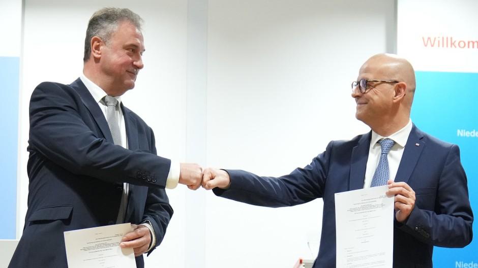 Und nun? GDL-Chef Weselsky und Bahn-Vorstand Seiler