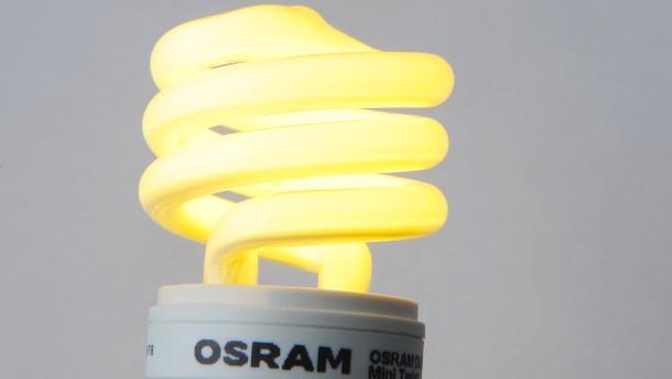 Bundesregierung bremst auch bei Osram