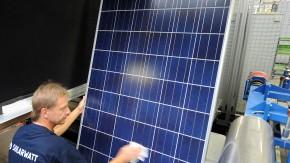 Module der Solarwatt AG: Quandt ist Großaktionär bei dem sächsischen Sonnenunternehmen