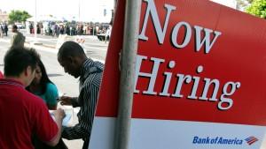 Weniger neue Stellen in Amerika als erhofft