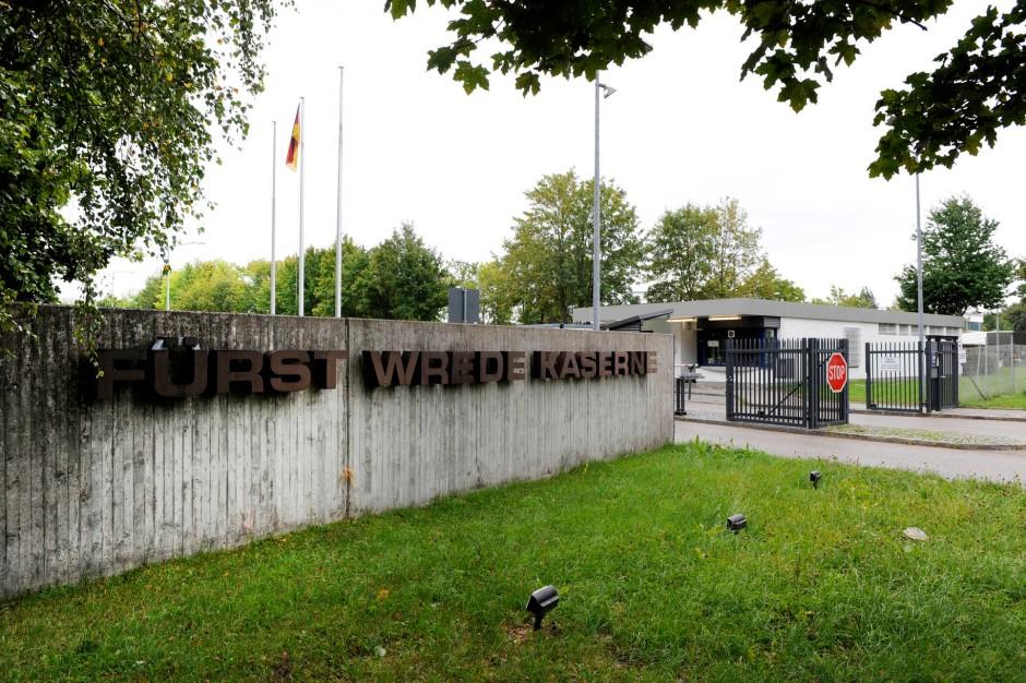 Fürst-Wrede-Kaserne in München: betrieben von Hochtief