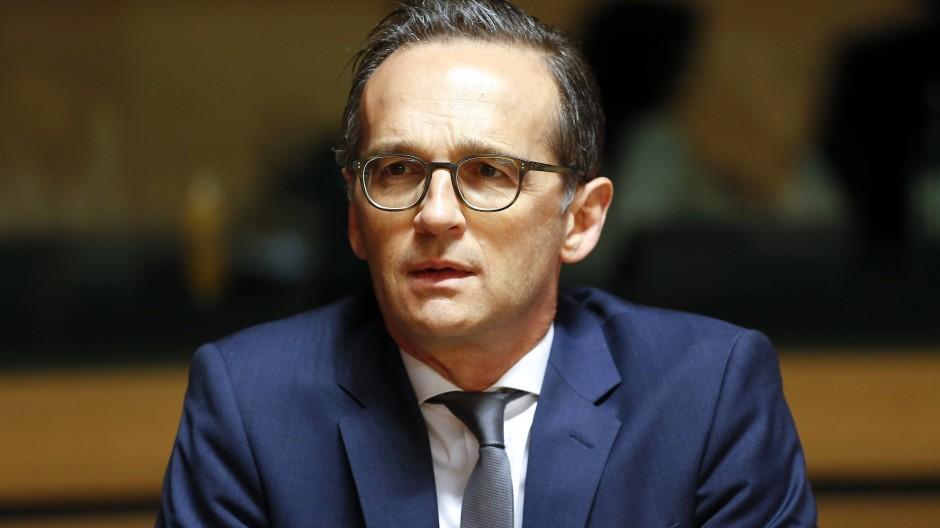 """Ein Erfolg bei seinem """"Netzwerkdurchsetzungsgesetz"""" lag ihm sehr am Herzen: Heiko Maas"""