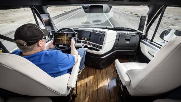 Diese Technologie kann Tausende Lasterfahrer arbeitslos machen