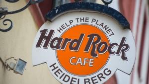 Gericht stoppt T-Shirt-Verkauf des Heidelberger Hard Rock Cafes