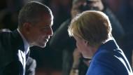Merkel: Wir wissen: Wir müssen handeln