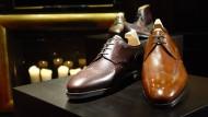 Braune Schuhe: Was in Italien als modische Raffinesse durchgehen mag, ist anscheinend in Vorstellungsgesprächen im Londoner Finanzdistrikt ein K.-o.-Kriterium.