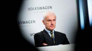Der VW-Chef muss in die Höhle des Löwen