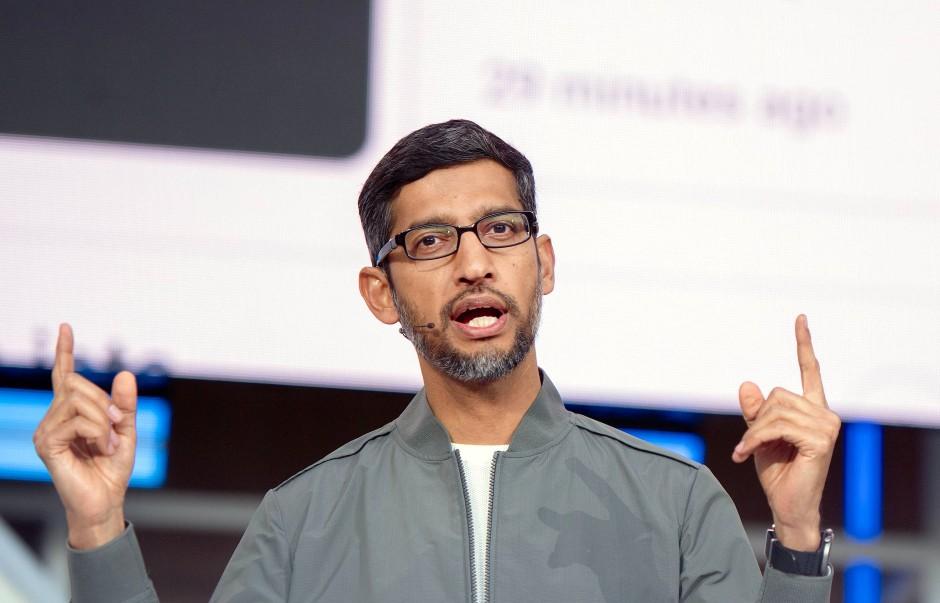 Der Chef der Google-Muttergesellschaft Alphabet Sundar Pichai